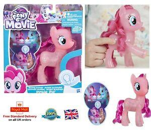 MY LITTLE PONY SHINNING PINKIE PIE My Pony Movie Play Set Girls Gift Toy C1818