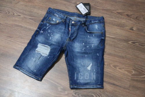 SALE!! Neu Kurze Jeans Dsquared2 D2 DSQ Mod.2906 ICON