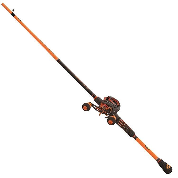 Lews naranja Crush Baitcaster Combo RH 7 5 1 Cocherete 7' 0 to