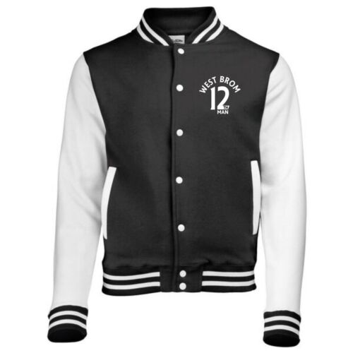 12th Man West Brom Fan Varsity Jacket Kids