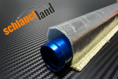 1m Alu-Titan Hitzeschutzschlauch gk ID 105mm *** Wärmeschutz Kabelschutz Mantel