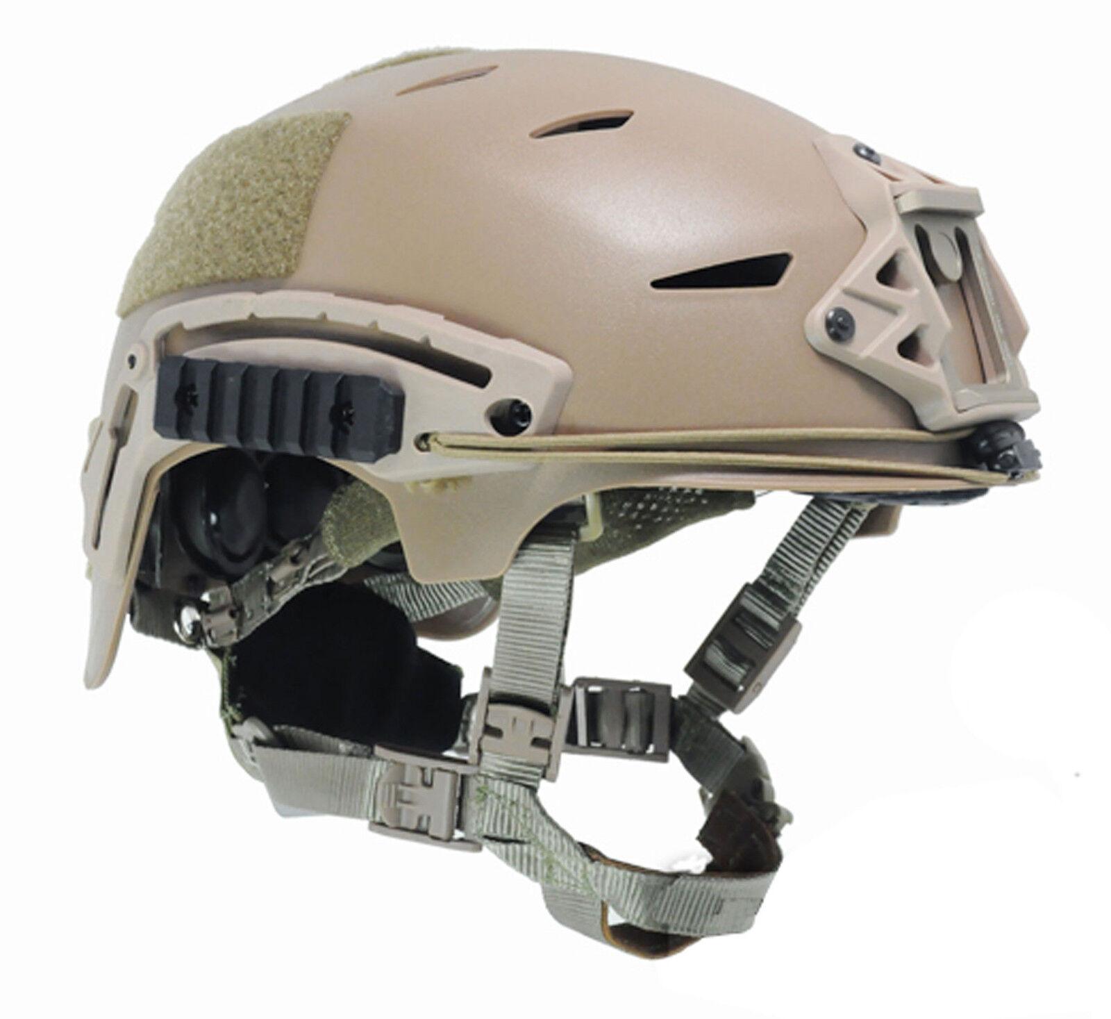 COOL Airsoft CS Predective FMA EXF BUMP Helmet DE PA742 M L