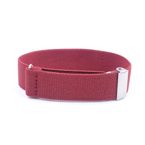 1Pc Mens Shirt Sleeve Holder Armbands Bartender Bracelet Garter Fashion Z