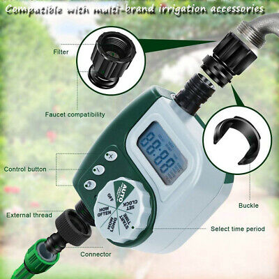 """greenhouse irrigation faucet equipment B2AE Automatic water timer 3//4/"""" garden"""