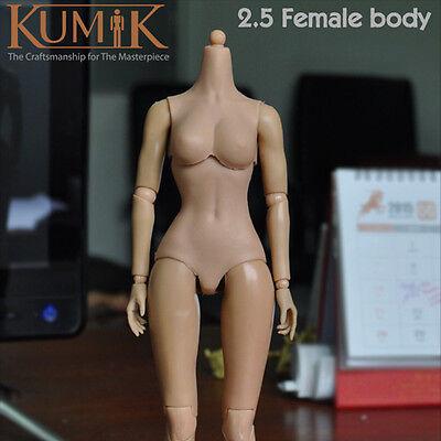 hands feet Kumik 1//6 Female//Girl Nude Muscular action figure Body CY Pale V2.5