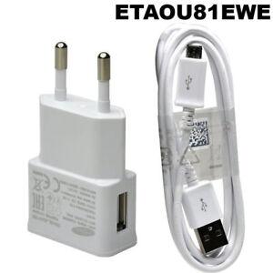 Caricabatterie-alimentatore-cavo-micro-USB-originale-Samsung-rete-parete-MAV7