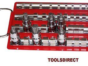 Socket-Tray-Rail-Rack-Set-1-4-034-3-8-034-1-2-034-Sockets-Storage-Holder-Garage-Workshop