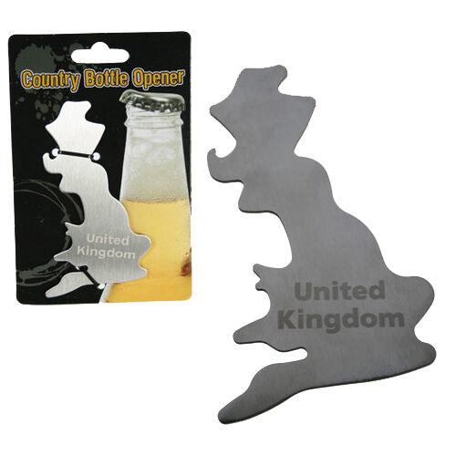 UNITED KINGDOM UK BOTTLE OPENER ENGLAND NOVELTY HANDY KITCHEN POCKET SIZE BEER