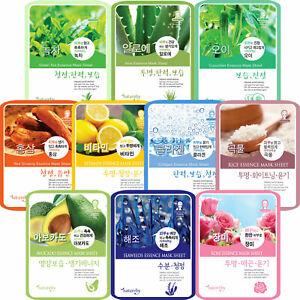10-Packs-Korean-Sheet-Mask-Essence-Face-Facial-Hydrating-Skin-Cosmetics