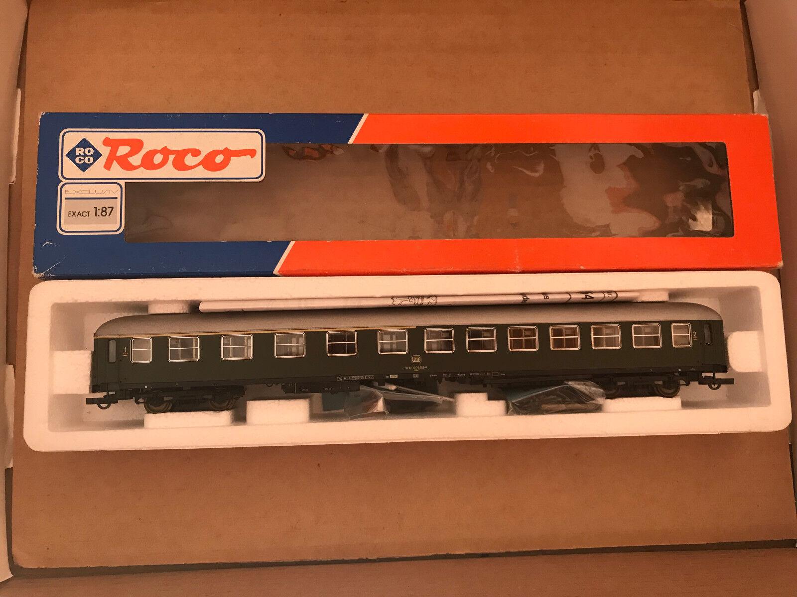 Roco 44754 44754 44754 - HO - DB - Personenwagen 1. 2.Kl. - 1 87  NEU  OVP    Maßstab ist der Grundstein, Qualität ist Säulenbalken, Preis ist Leiter  7fa6a2