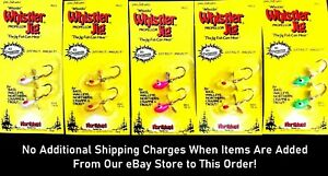 🌟 Northland Whistler Fishing Jig 1/8 oz. - Choice of Color ( One Package )