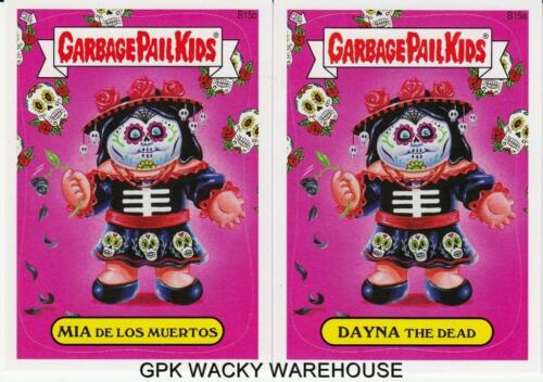 2013 GARBAGE PAIL KIDS BRAND NEW SERIES BNS 2 RARE BONUS CARDS B15A B15B PAIR
