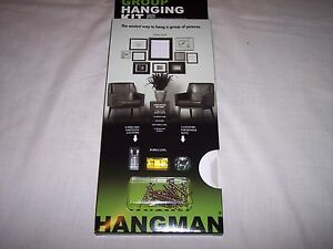 Hangman, Picture Frame Group Hanging Kit, Bubble Level