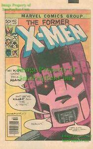 Days of Future Past Story; Great ORIGINAL Print Ad! X-Men #142 Sentinel 1981