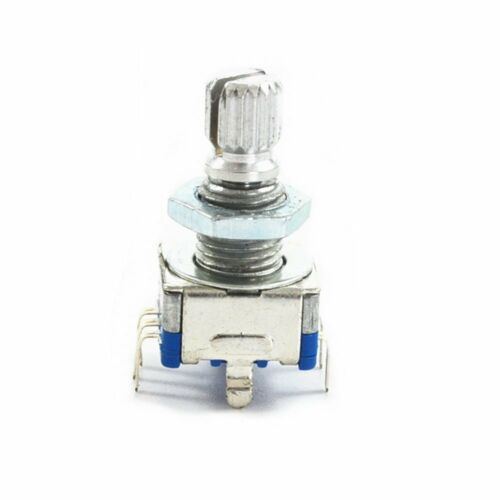 25PCS EC11 bouton rotatif avec interrupteur Numérique Audio Potentiomètre poignée 15 mm
