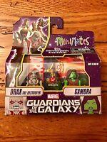 Marvel Minimates Guardians Of The Galaxy Drax & Gamora 2pack Exclusive Walgreens