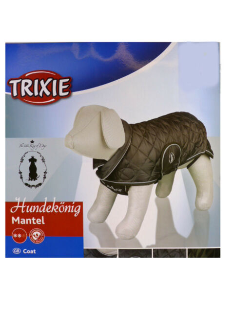 Trixie 30495 Hundekönig Mantel, M, 50 cm, schwarz