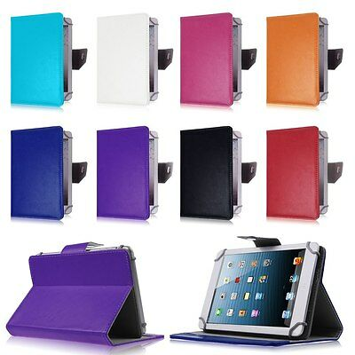 "Leather Case Stand Cover For Universal Android Tablet PC PAD 7"" 8"" 9"" 10"" 10.1"""