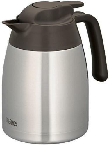 Thermos stainless steel pot 1L brown THV-1001 SBW Japan