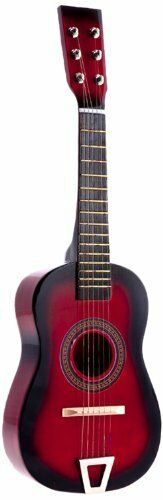 Star Kids Acoustic Toy Guitar 23 Inches Red Color