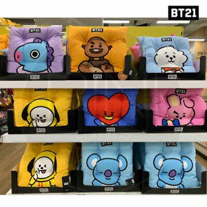 BTS-BT21-Official-Authentic-Goods-Sitting-Cushion-7Characters-Tracking-Number