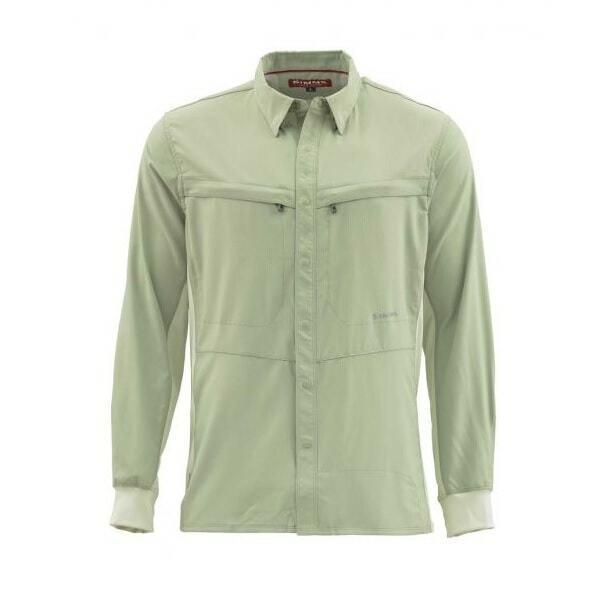 SALE Simms Intruder BiComp LS Shirt Sagebrush XL nuovo gratuito SHIPPING