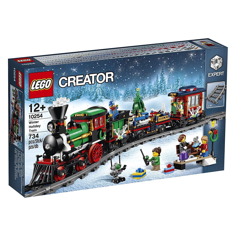 Lego Conjunto de tren de vacaciones de invierno de Navidad 10254  2016  experto Nuevo y Sellado