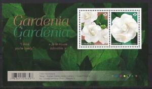 Kanada-2019-Gardenia-Miniatur-Blatt-Nicht-Gefasst-Postfrisch-MNH