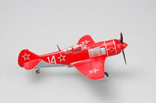 Easy Model 1//72 Soviet Union La-7 Red 14 Plastic Fighter Model #36334