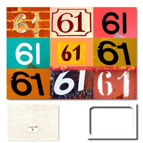 Anniversaire Carte De Voeux XXL Félicitations Carte cartes d/'anniversaire #611 Digitaloase 61