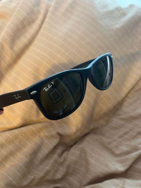 ray ban original wayfarer matte black polarized