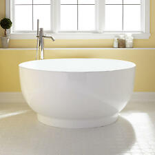 Signature Hardware 51 Kaimu Acrylic Anese Soaking Tub No Faucet Holes