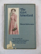 Nixon Waterman THE GIRL WANTED Forbes and Company Chicago 1920