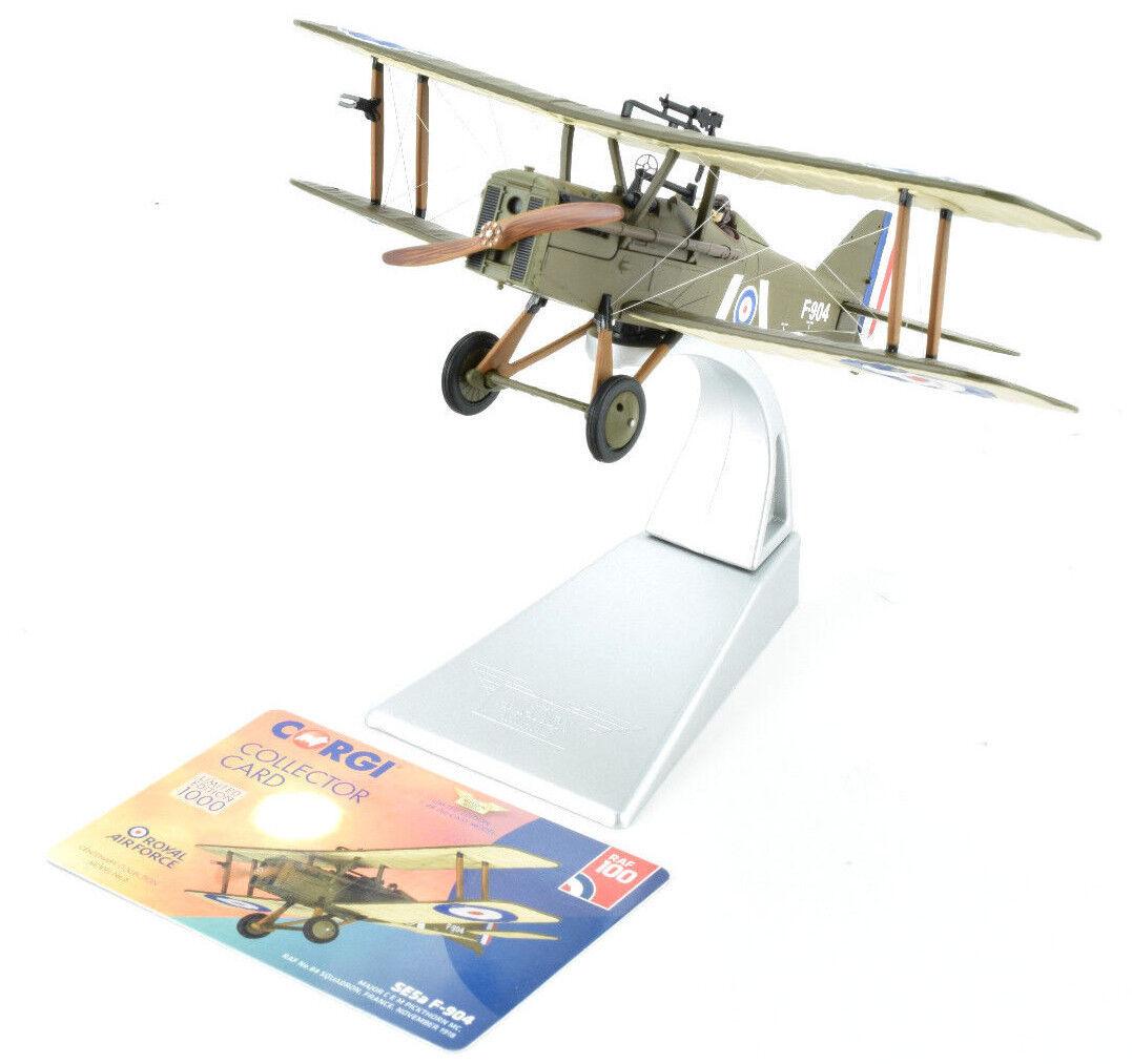 CORGI SE5a F-904 - Novembre 1918 - 100 ans Royal Air Force 1 48 Die-cast Avion AA37708