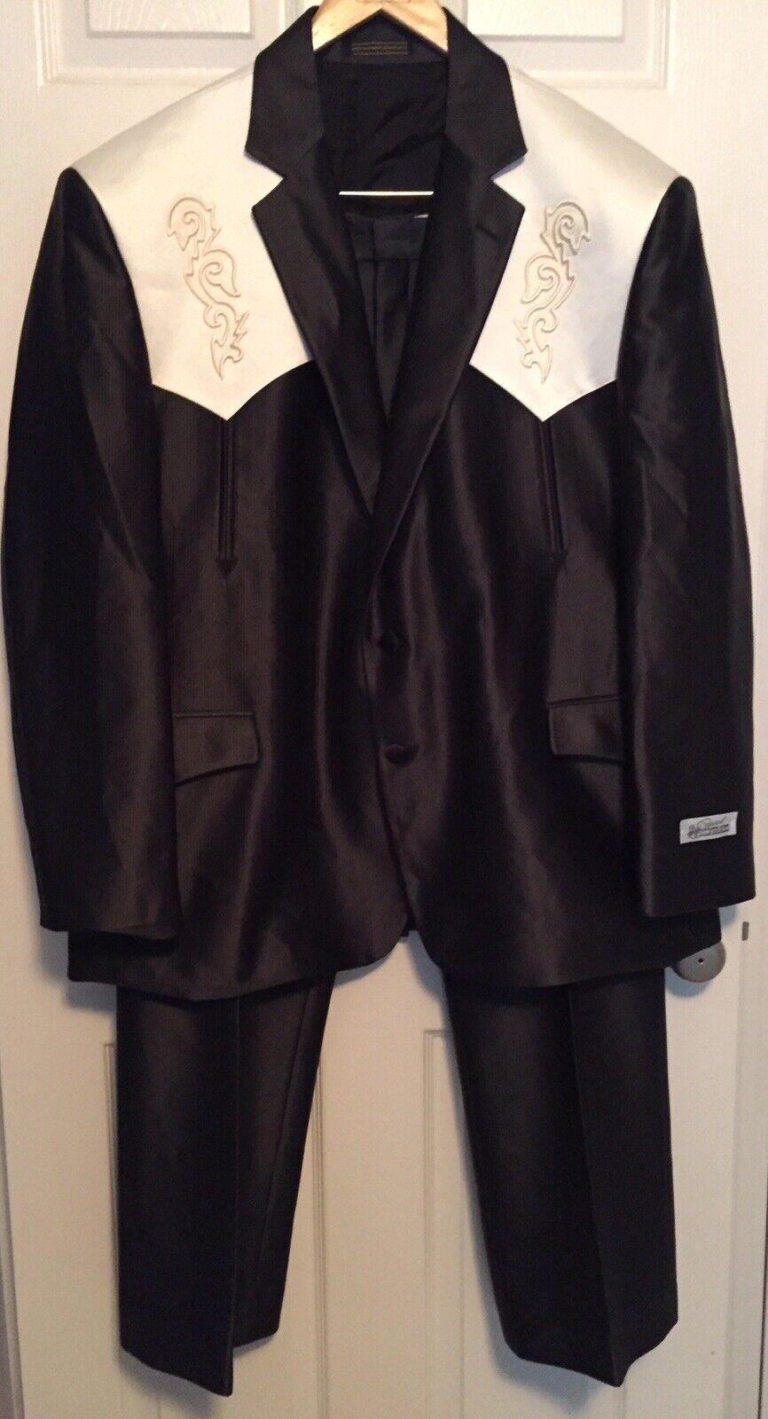 Vintage NOS SILVERADO Country & Western Suit Jack… - image 1