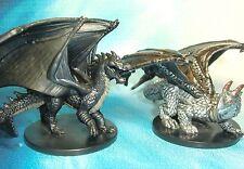 Dungeons & Dragons Miniatures  Iron Dragon Prowler Adamantine Dragon !!  s112