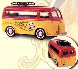 Peugeot D3a Le Super Orchestre Fred Adison Pinder Corgi Jouets Jaune 1:43