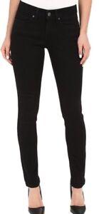 Levi-039-s-711-Skinny-Jeans-Soft-Stretch-Mid-Rise-in-schwarz