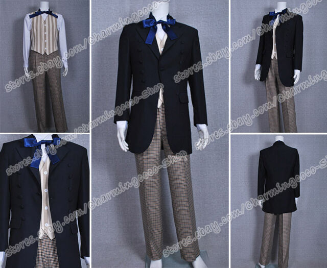 Doctor Cosplay Who Dr 1st The First Doctor William Hartnell Costume Uniform Suit