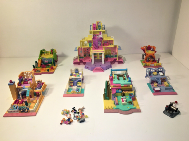 Polly Pocket, Stor samling, Cozy Cottage Hotel med…