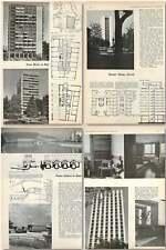 1959 Swiss Building, Nurses Home Zürich Power Station Basel Point Block Biel