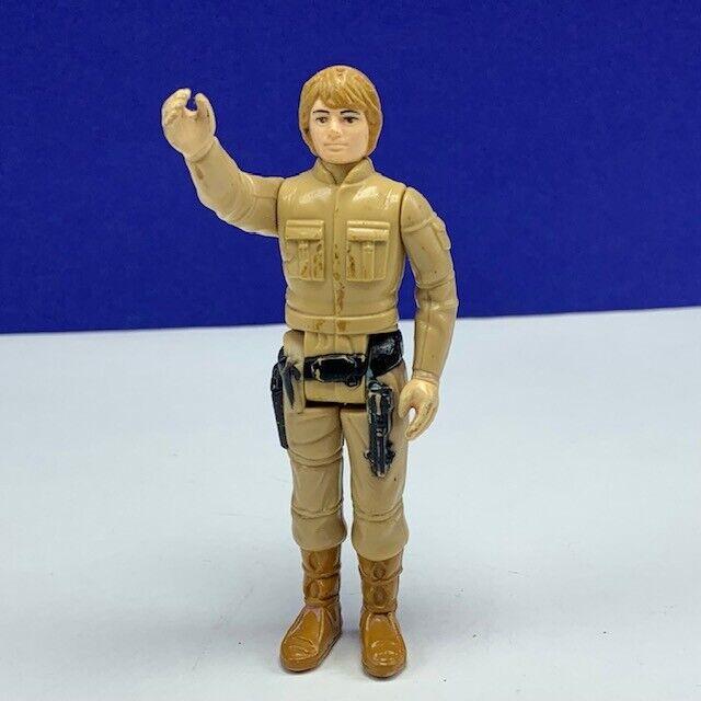 Star Wars action figure toy vintage 1980 Kenner Bespin Luke Skywalker Marroneee hair