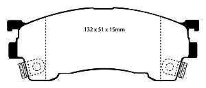 DP3971C EBC Redstuff Brake Pads
