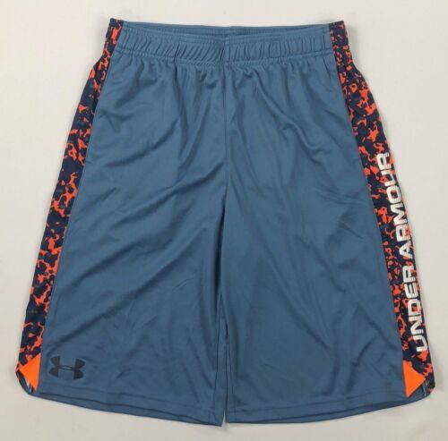 Boy/'s Youth Under Armour Heatgear UPF 30 Athletic Shorts