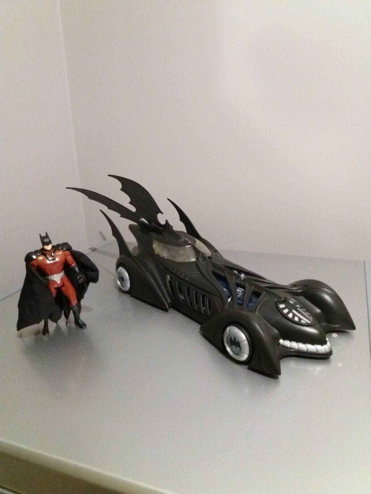 Seltene batman forever - elektronische batmobil fahrzeug fireguard batman abbildung 1995
