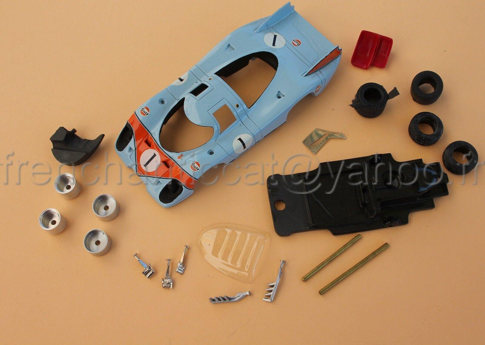 Cs Rara Predotipo Prova Heco Porsche 917 1 43 Miniatura N.11 le Mans Gulf blue
