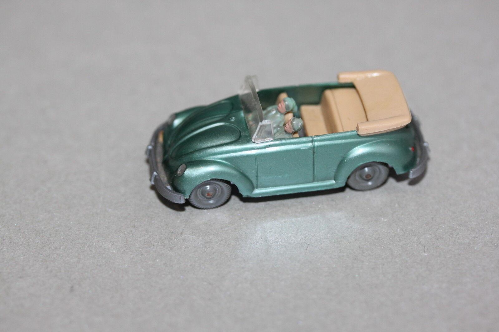 envio rapido a ti Wiking 33 3 vw esCocheabajo cabrio verde metalizado Spur h0 h0 h0  Web oficial
