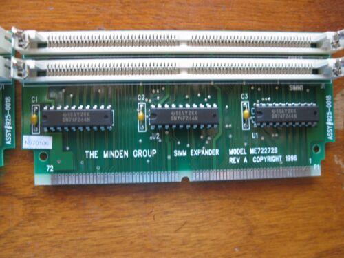 Simmexpander ME72272B Memory Module Risers BRAND NEW