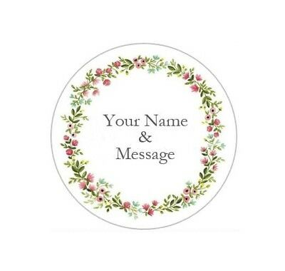 """2/"""" PERSONALIZED CUSTOM STICKERS LABELS BABY SHOWER WEDDING GRADUATION #7P"""
