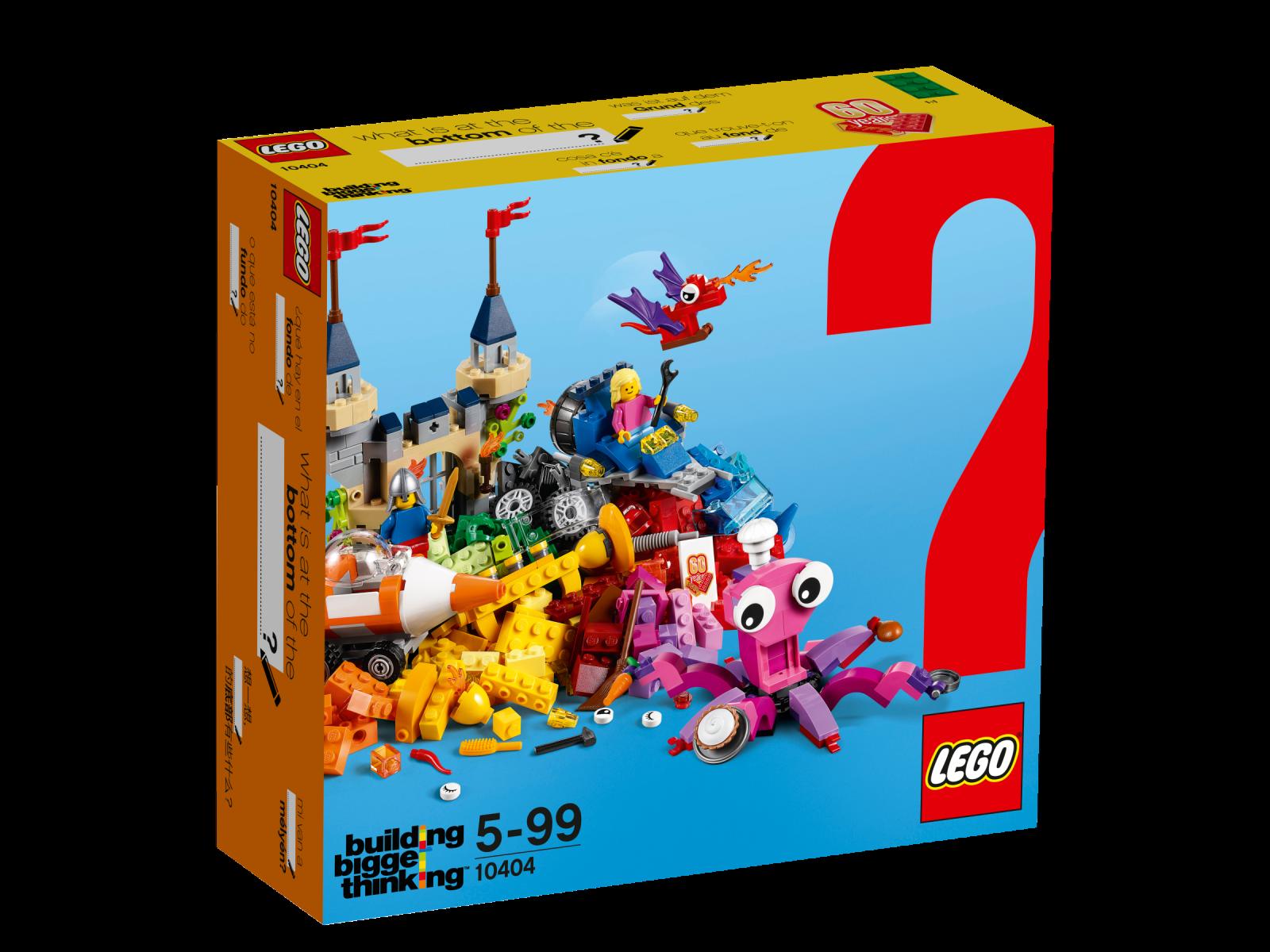 LEGO ® CLASSIC 10404 au fond de nouveau neuf dans sa boîte _ Ocean's bottom NEW En parfait état, dans sa boîte scellée Boîte d'origine jamais ouverte